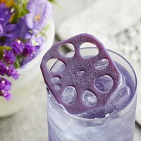 Wild Hibiscus 2.4 lb. Lotus Root in Butterfly Pea and Elderflower Syrup