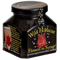 Wild Hibiscus 8.8 fl. oz. Hibiscus Flowers in Syrup