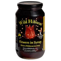 Wild Hibiscus 2.5 lb. Hibiscus Flowers in Syrup