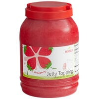 Bossen 8.38 lb. Strawberry Jelly Topping - 4/Case