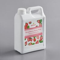 Bossen 64 fl. oz. Strawberry Concentrated Syrup with Some Pulp
