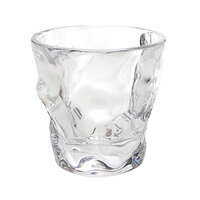Elite Global Solutions DW9PC-CL 9 oz. Plastic Organic Rocks / Old Fashioned Glass - 24/Case