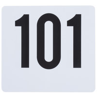 Table Number Card Set - 101 to 150