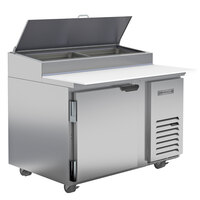 Beverage-Air DP46HC-18 46 inch 1 Left-Hinged Door Refrigerated Pizza Prep Table
