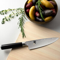 Shun DM0723 Classic 6 inch Forged Chef Knife with Pakkawood Handle