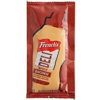 French's 9 Gram Spicy Brown Mustard Packets - 500/Case