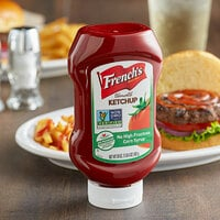 French's 20 oz. Tomato Ketchup Squeeze Bottle - 12/Case
