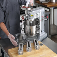 Estella 348MIX8XMGP #5 Hub Meat Grinder and Pasta Roller / Cutter Attachment Kit for Estella MIX8SV Series Mixers