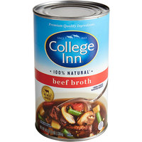 College Inn 48 oz. Can Beef Broth - 12/Case
