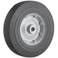Lavex Industrial 10 inch x 2 1/2 inch Metal Hub Wheel for Tilt Trucks