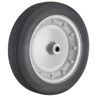 Lavex Industrial 12 inch x 3 inch Metal Hub Wheel for Tilt Trucks