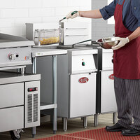 Avantco EF40-208-3 40 lb. Electric Floor Fryer - 208V, 3 Phase