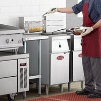 Avantco EF40-240-3 40 lb. Electric Floor Fryer - 240V, 3 Phase