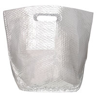 Lavex Packaging 12 inch x 9 inch x 16 inch Insulated Delivery Bag with Handles   - 25/Case