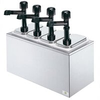 Server SR-4 79870 Solution 4 Pump Countertop Condiment Dispenser