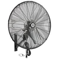 "TPI CACU 24-WO 24"" 3-Speed Oscillating Industrial Wall-Mount Fan - 1/4 hp, 3,200 CFM"
