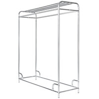 Ex-Cell Kaiser 790-60 CHR 60 inch x 20 inch x 65 inch Chrome-Plated Steel Garment Rack