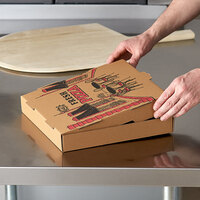 Choice 12 inch x 12 inch x 2 inch Kraft Corrugated Pizza Box Bulk Pack - 150/Case