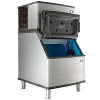 "Manitowoc IYT0300A-161 Indigo NXT 30"" Air Cooled Half Dice Cube Ice Machine / Storage Bin - 115V, 310 lb."