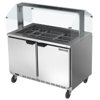 Beverage-Air SPE48HC-18-S 48 inch Stainless Steel Refrigerated Salad Bar / Cold Food Table