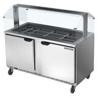 Beverage-Air SPE60HC-24-S 60 inch Stainless Steel Refrigerated Salad Bar / Cold Food Table