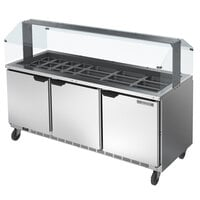 Beverage-Air SPE72HC-30-S 72 inch Stainless Steel Refrigerated Salad Bar / Cold Food Table