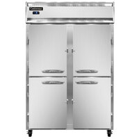 Continental Refrigerator 2FSN-SA-HD 52 inch Half Door Shallow Depth Reach-In Freezer - 32 Cu. Ft.