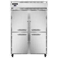 Continental Refrigerator 2FN-HD 52 inch Solid Half Door Reach-In Freezer - 48 cu. ft.