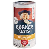 Quaker 42 oz. Old Fashioned Rolled Oats   - 12/Case