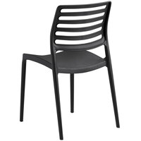 Lancaster Table & Seating Allegro Black Resin Side Chair