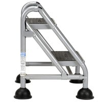 Cosco 11824GGB1 2-Step Commercial Rolling Step Ladder