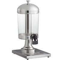 Choice 2.1 Gallon Hands-Free Stainless Steel and Polycarbonate Single Beverage Dispenser