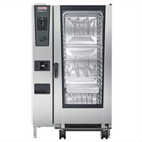 Rational iCombi Classic Single 20-Full Size Liquid Propane Combi Oven with ClimaPlus Technology - 208/240V, 1 Phase