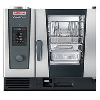 Rational iCombi Classic Single 6-Half Size Liquid Propane Combi Oven with ClimaPlus Technology - 120V