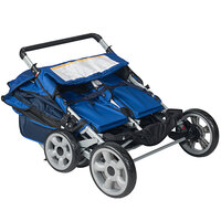 Foundations 4140037 LX4 4-Passenger Regatta Canopy Stroller with SafeBrake System and Storage Basket