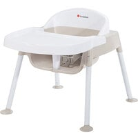 Foundations 4609247 Secure Sitter 9 inch White / Tan Feeding Chair with Non-Slip Feet