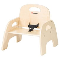 Foundations 4807047 Simple Sitter 7 inch Natural Wood Feeding Chair