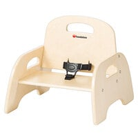 Foundations 4805047 Simple Sitter 5 inch Natural Wood Feeding Chair