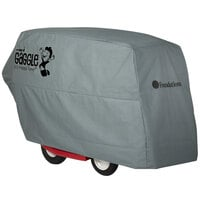 Foundations 4145259 Gaggle 60 inch x 42 inch x 32 inch Gray All-Weather Storage Cover for Parade 4-Passenger Buggies