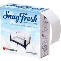 Foundations 6911036 SnugFresh White Disposable Clean Ribbons for Playards - 150/Case