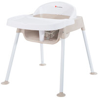 Foundations 4603247 Secure Sitter 13 inch White / Tan Feeding Chair with Non-Slip Feet