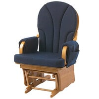 Foundations 4205036 Lullaby Navy Replacement Cushion Set for Glider Rockers