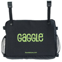 Foundations 4144239 Gaggle 17 inch x 13 inch x 14 inch Black Accessory Storage Bag for Parade Buggies
