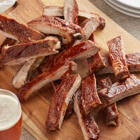 Farm Promise 2.7 lb. NAE All-Natural St. Louis Style Ribs - 10/Case