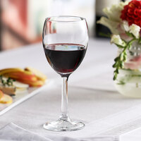 Pasabahce 44789-024 Imperial Plus 6.25 oz. Fully Tempered Tall Wine Glass - 24/Case