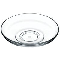 Pasabahce 54251-072 4 1/4 inch Glass Saucer - 72/Case