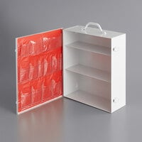 Medique 712MTM 3-Shelf Empty First Aid Cabinet with Pockets