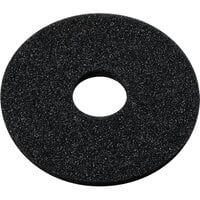 Carlisle GR09RS03 5 1/2 inch Round Black Sponge for Glass Rimmers