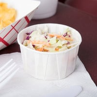 Solo SCC400 4 oz. White Paper Souffle / Portion Cup - 250/Pack