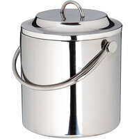 Carlisle 609193 3.5 Qt. Stainless Steel Double Wall Ice Bucket